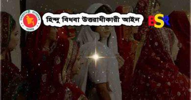 হিন্দু বিধবা সম্পত্তি আইন