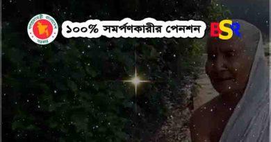 ১০০% সমর্পণকারীর পেনশন