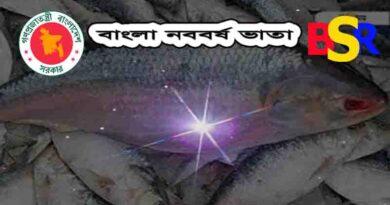 বাংলা নববর্ষ ভাতা প্রজ্ঞাপন ২০১৫