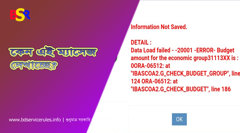 Information not saved ibas++